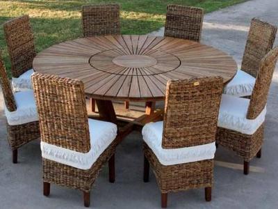 Set Pranzo Real Teak & Resort Chair - Venditi mobili online Brescia