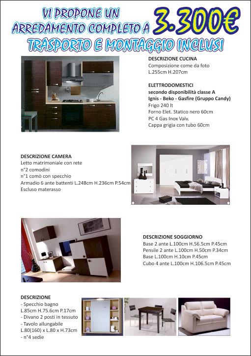 Offerte su mobili a brescia salotti cucine divani for Arredo bagno brescia offerte