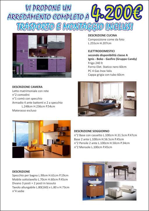 Offerte su mobili a Brescia - Salotti, cucine, divani, camere, bagni